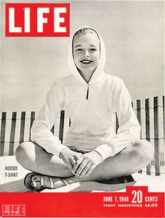 cover of Life magazine, 1948 - the hooded t-shirt