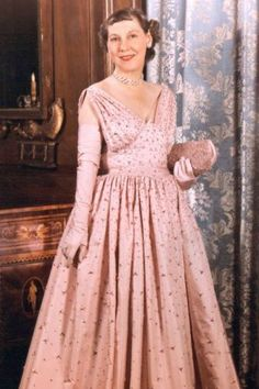 Mamie Eisenhower - gotta be one of the best inaugural ball dresses of all time (ok of our 300 year history)
