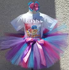 This simple shimmer and shine tutu outfit has a pretty pink, purple, and blue simple tutu, and iron on design personalized with your little girl's name and birthday age, and a matching hair bow. Birthday Party Outfits, 4th Birthday, It's Your Birthday, Little Girl Names, Little Girls, Little Girl Fashion, Toddler Fashion, Tutu Outfits, Girl Outfits