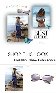 """""""#5 Stayingsummer"""" by almira-mustafic ❤ liked on Polyvore"""