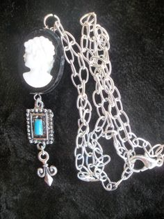Shanty Town Cameo Piece by AmalgamationsbyD on Etsy, $18.00