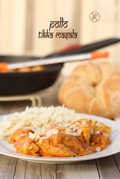 Receta de Pollo Tikka Masala #cocinainternacional