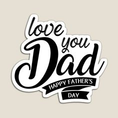 Father's Day Stickers, Love You Dad, Serious Injury, Happy Fathers Day, Magnets, Vibrant Colors, Dads, Medical, Gifts