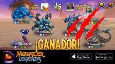 ¡Soy el mejor en el estadio de Monster Legends! Si quieres retarme, colecciona ya a tus monstruos. http://m.onelink.me/8651e4be