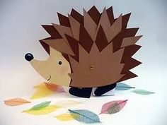 Fall Crafts For Kids, Art For Kids, Diy And Crafts, Arts And Crafts, Fall Halloween, Halloween Crafts, Hedgehog Craft, Classroom Crafts, Creativity And Innovation