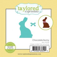 Little Bits - Chocolate Bunny TE Taylored Expressions