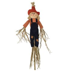 This Scarecrow Character Yard Stake will make the perfect addition to your Fall decorating this season. Approximately 60