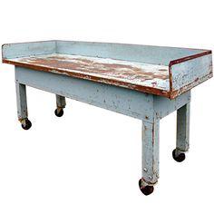 industrial island/prep table