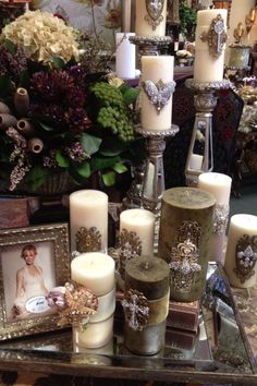 Moda Dora Candles at Green Street Interiors Los Alamitos, CA