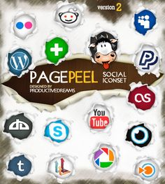 Page Peel Icons Version 2