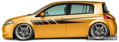 Adesivi per Auto e Moto: Kit bandas 43 1