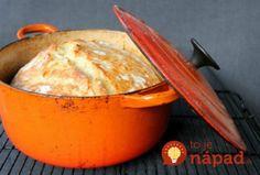 Bez miesenia: Chrumkavý domáci chlebík len zo 4 prísad!