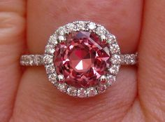 Hey, I found this really awesome Etsy listing at http://www.etsy.com/listing/152465140/precision-cut-burmese-peachy-pink-spinel