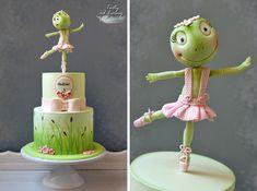 Little Frog - Ballerina by Lorna