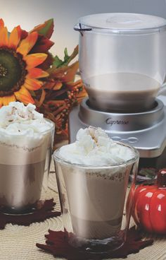 Fall's favorite flavor. We're sharing our Pumpkin Spice Hot Chocolate recipe on the blog. Have you had one yet this season?