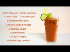 Drinks Made Easy: How To Make A Bloody Mary