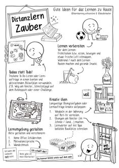 Bild in der Beschreibung des Unterrichtsmaterials Distanzlernzauber - Lerntipps Distanzlernen / Homeschooling von Doodleteacher #3 Motivation, Homeschool, Inspiration, Corona, Teacher Education, Time Capsule, Learning Spaces, Free Worksheets, Teaching Aids