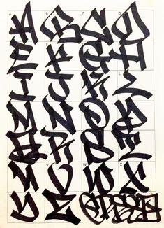 Graffiti Letters 61 graffiti artists share their styles Bombing Science Бядffιттι Artists Bombing Graffiti Letters Science share styles Бядffιттι is part of Graffiti lettering - Graffiti Alphabet Styles, Graffiti Lettering Alphabet, Graffiti Writing, Graffiti Tagging, Grafitti Letters, Typography, Easy Graffiti Letters, Cool Graffiti Fonts, Caligraphy Alphabet