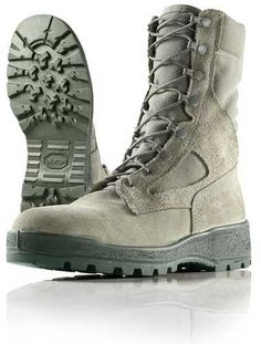 Wellco Combat Boots S114 - Sage - Temperate Weather