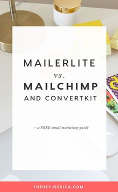 Marketing strategies infographic & data visualisation MailerLite vs MailChimp and ConvertKit Infographic Description Mailerlite vs.