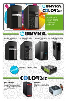 Mira estas cajas de UNYKA, monta tus equipos a medida de tus clientes