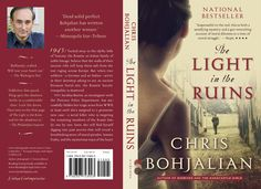 """The paperback cover of """"The Light in the Ruins,"""" coming April 2014 from Vintage Books."""