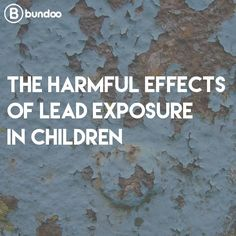 What do old paint chips, soil around old houses, and old painted toys possibly have in common? Lead! Know how to spot lead poisoning in children.