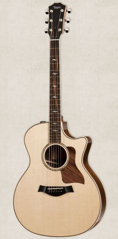 Taylor 814ce Grand Auditorium Cutaway ES2 Acoustic Electric Guitar Natural