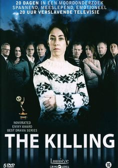 The Killing (Forbrydelsen) Denmark.- Police detective Sarah Lund investigates difficult cases with personal and political consequences.
