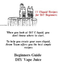 Make your own eliquid for the first time ? Easy ! #vape #diy #eliquid