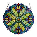 Couer Stained Glass Panel