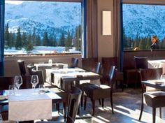 4* Altiport Hotel with Skiweekends.com - the restaurant with a view!