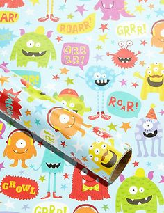Monster Wrapping Paper