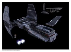 Star Wars the Old Republic concept art- SWTOR spaceship
