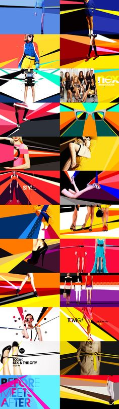 motion graphics/ storyboards/ styleframes | STYLE NETWORK - Carolina Carballo