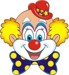 Clown holiday decorations on clip art clip art free and Clown Party, Circus Birthday, Circus Theme, Circus Clown, Drawing For Kids, Art For Kids, Image Cinema, Clown Images, Clown Crafts