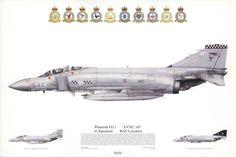 Phantom FG.1, 43 Squadron, RAF Leuchars
