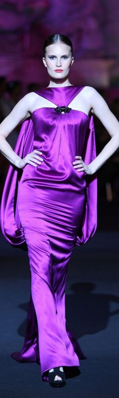 Glamour gowns / karen cox.  Fausto Sarli haute couture 2013
