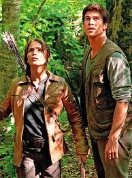 Katniss and Gale <3 if you have read the books you will understand