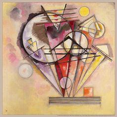 Wassily Kandinsky, Auf Spitzen on ArtStack #wassily-kandinsky-vasilii-vasil-ievich-kandinskii #art