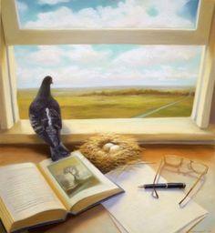 Pinzellades al món: Un moment i un lloc per llegir / Un momento y un lugar para leer / A time and a place to read - Ilustração de Deborah Dewit