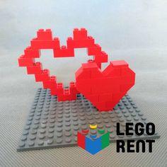 Blíži sa Valentín a tak tu pre vás mám 5 návodov na postavenie ❤️💔💝 z Lega Nintendo 64, Lego, Games, Gaming, Legos, Plays, Game, Toys
