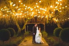 Lighting has the ability to transform an area. Lighting in a wedding takes the event to the next level. Check out these 14 real life weddings that have the most inspiring lighting.