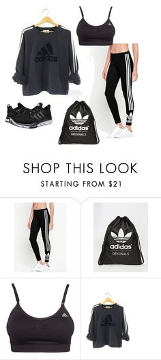 """ADIDAS"" by christine-hoeg ❤ liked on Polyvore featuring adidas Originals and adidas"