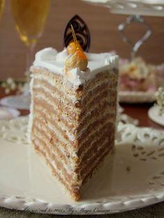 My Magic Cuisine: Torta Nugatela - My site Torte Recepti, Kolaci I Torte, No Cook Desserts, Sweet Desserts, Chocolate Desserts, Chocolate Chip Cookies, Candy Recipes, Dessert Recipes, Fun Deserts