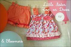 Baby Girl Dress Patterns Easy