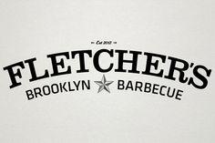 "Look what i found!  ""Fletcher's Brooklyn Barbecue by Renato Castilho, via Behance"""
