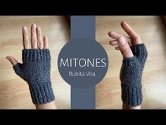 Fingerless Gloves Knitted, Arm Warmers, Knitting, Youtube, Collections, Beautiful, Crochet Slippers, Gloves, Mittens Pattern