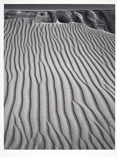San Dunes, Oceano, California / Ansel Adams / c. 1950, printed 1978