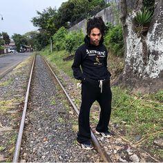 Luka Sabbat in Vetements hoodie & Balenciaga Triple S Sneakers. #pauseshots  via ✨ @padgram ✨(http://dl.padgram.com)